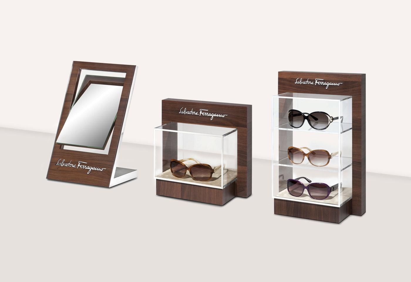 Salvatore Ferragamo Eyewear - Un design pensé par l'agence de design de Paris Partisan du Sens.