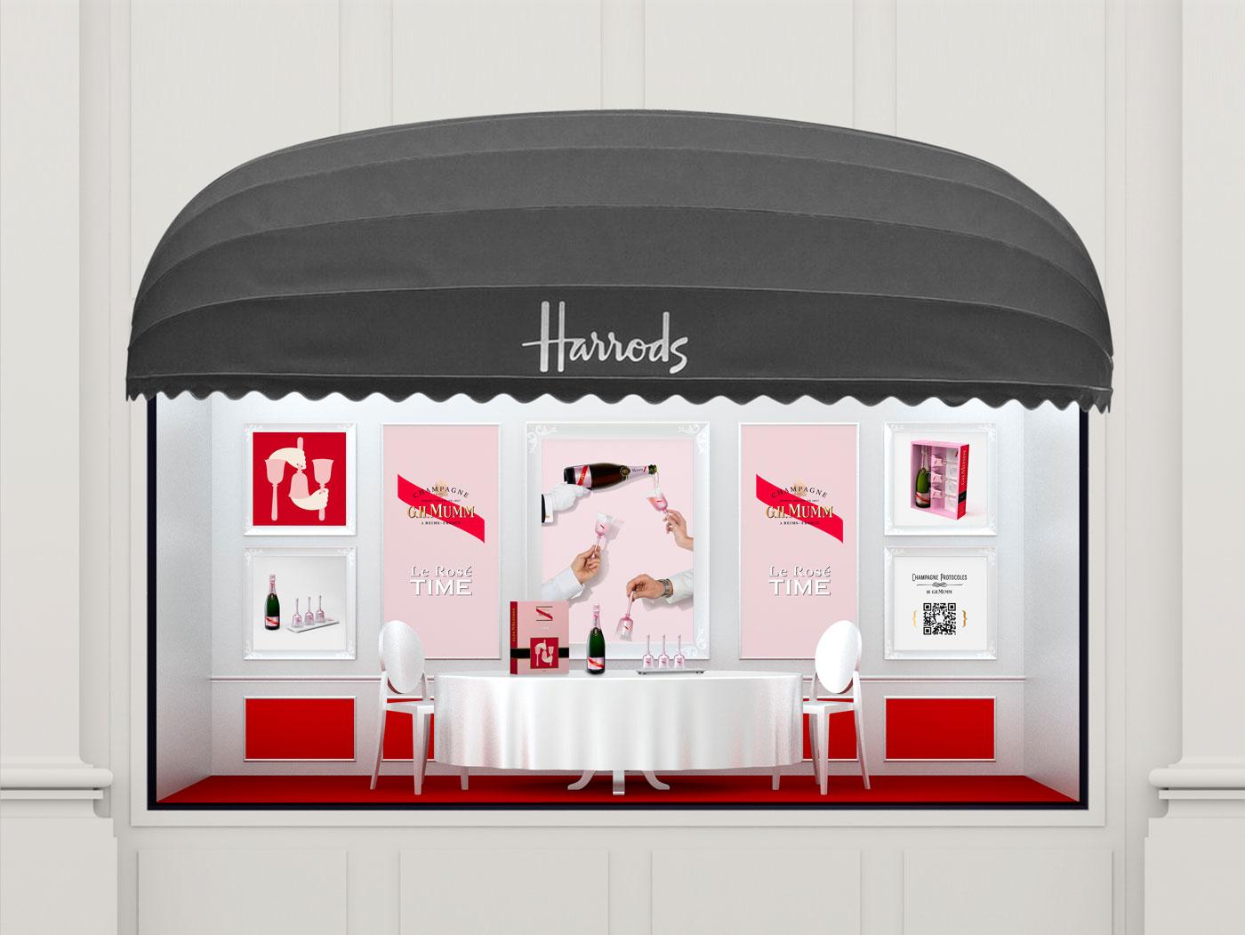 G.H. MUMM - Rosé Time - Un design pensé par l'agence de design de Paris Partisan du Sens.