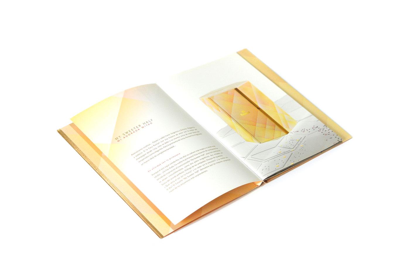 Identité Ruinart - Un design pensé par l'agence de design de Paris Partisan du Sens.