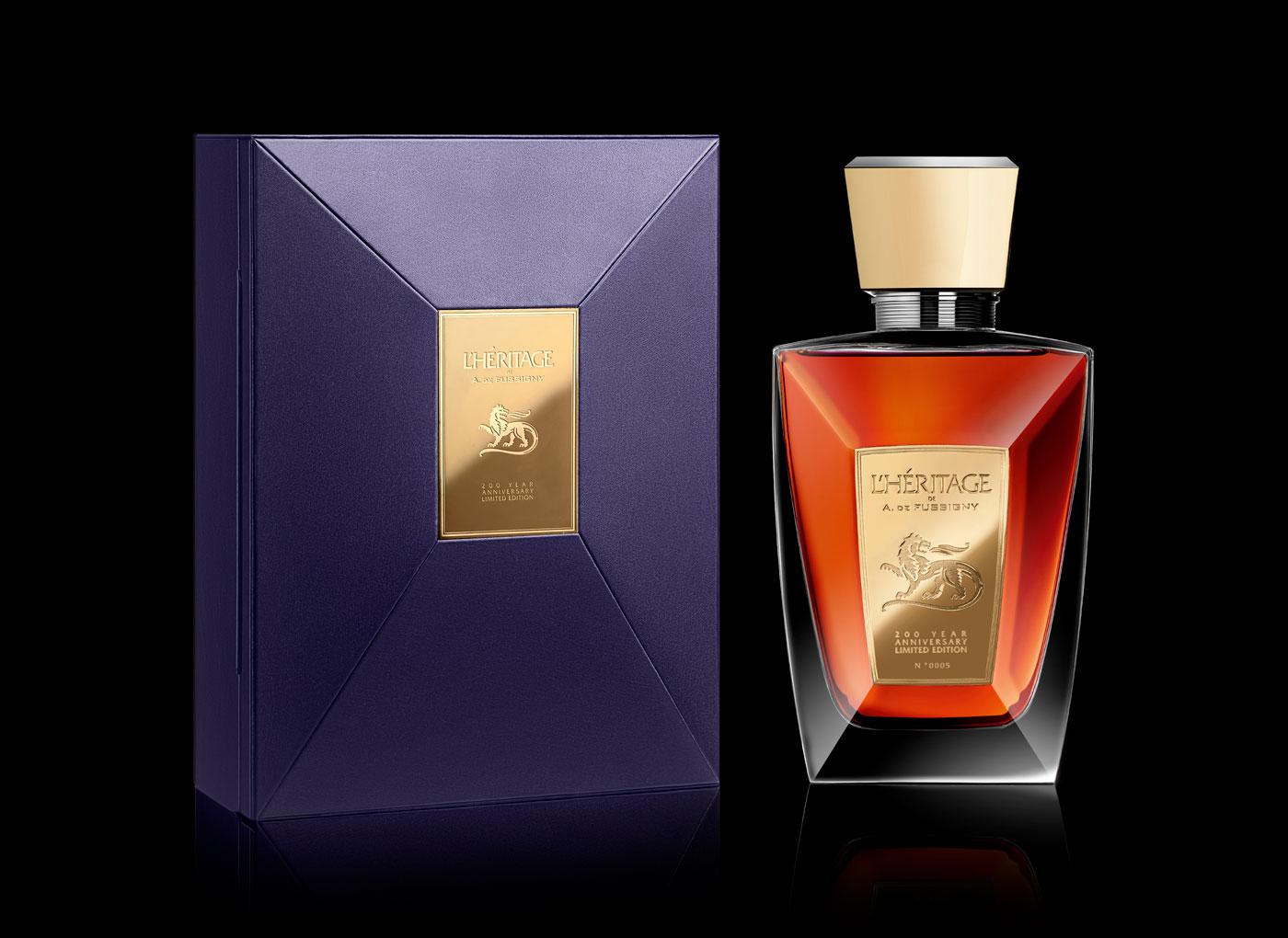L'Héritage de A. De Fussigny - Un design pensé par l'agence de design de Paris Partisan du Sens.
