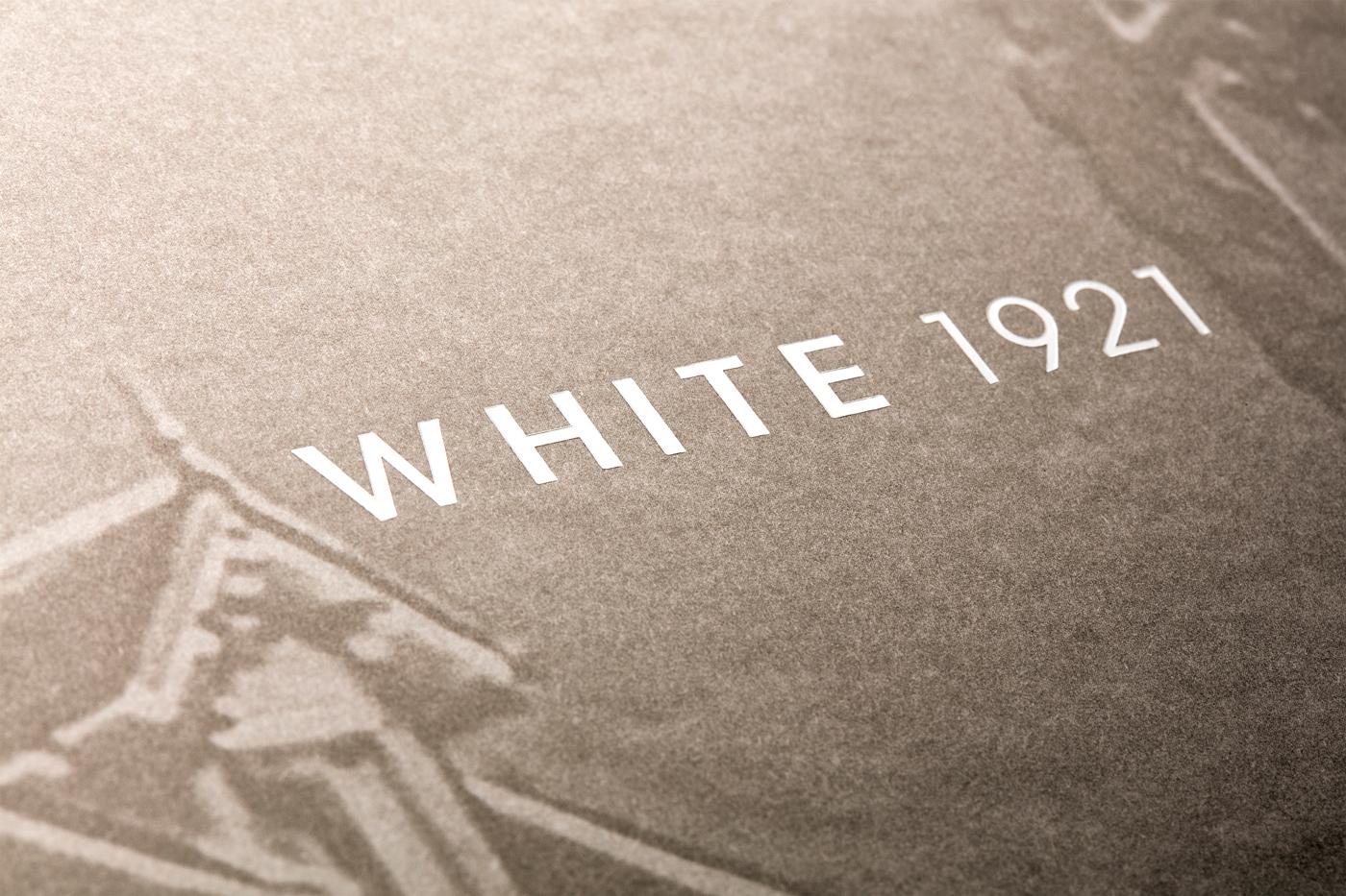 White 1921 - Un design pensé par l'agence de design de Paris Partisan du Sens.