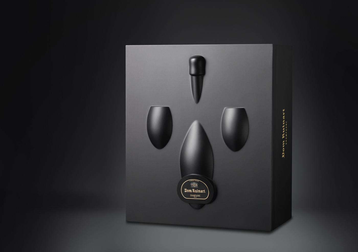 Dom Ruinart Inversion - Un design pensé par l'agence de design de Paris Partisan du Sens.