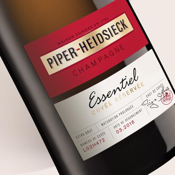 Piper-Heidsieck Essentiel - Partisan du Sens