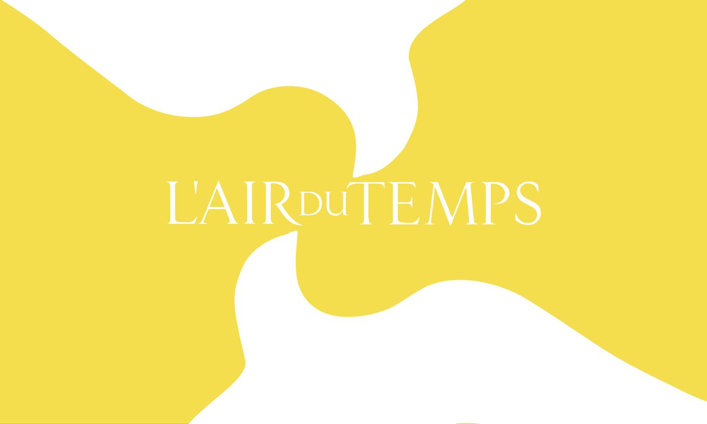 L'Air du Temps - Un design pensé par l'agence de design de Paris Partisan du Sens.
