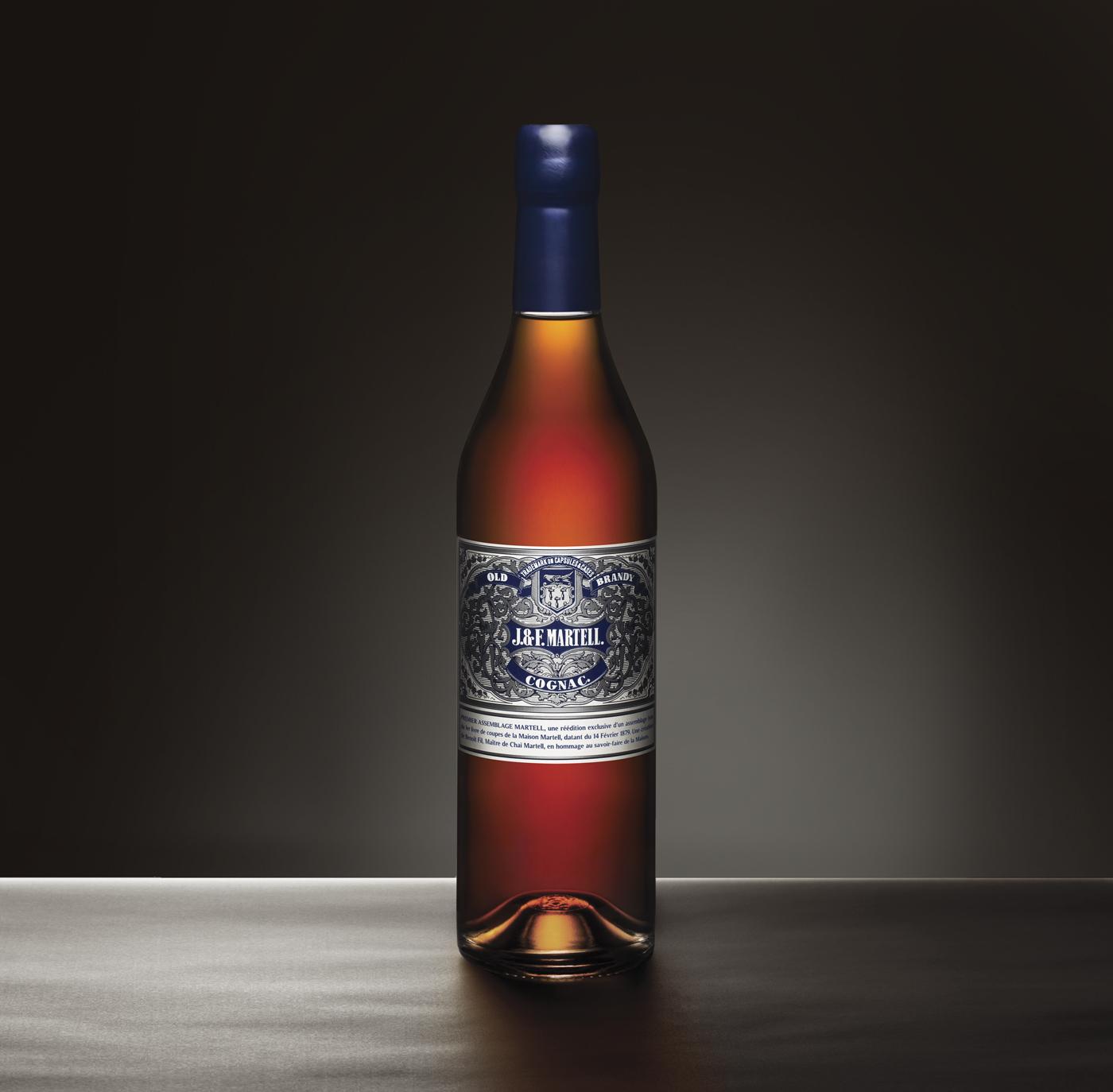 Martell Old Brandy - Un design pensé par l'agence de design de Paris Partisan du Sens.