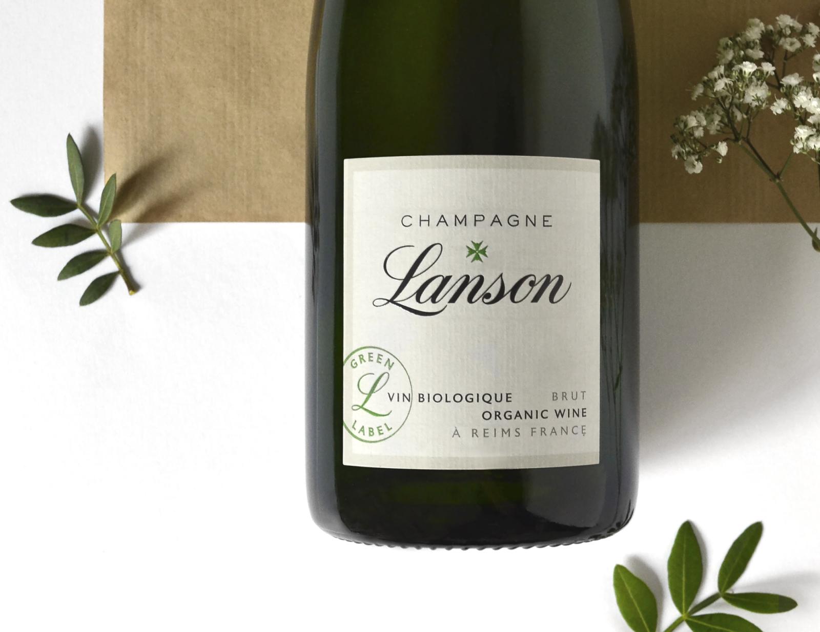 Lanson Green Label - Un design pensé par l'agence de design de Paris Partisan du Sens.