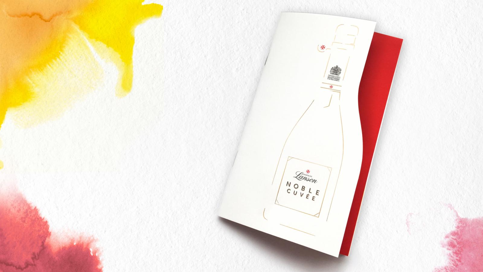 Lanson Noble Cuvée - Un design pensé par l'agence de design de Paris Partisan du Sens.