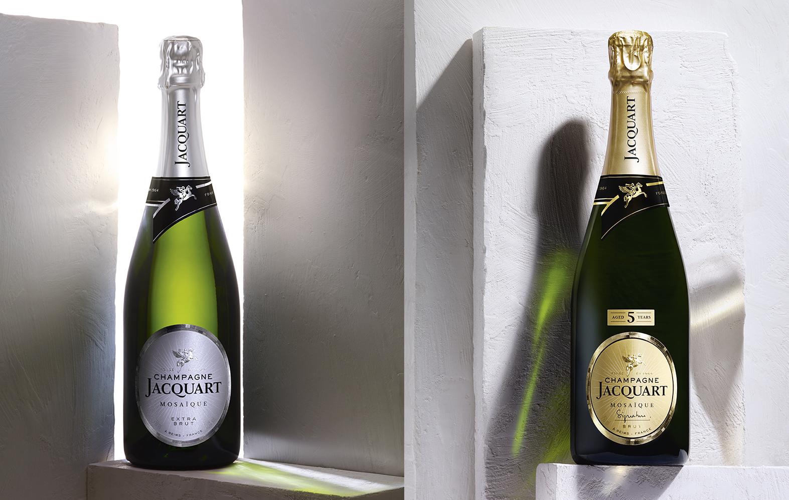 Champagne Jacquart - Un design pensé par l'agence de design de Paris Partisan du Sens.