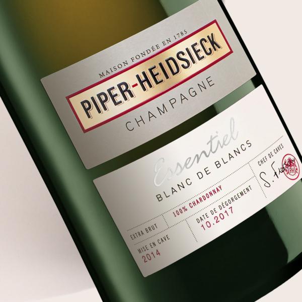 Piper-Heidsieck Essentiel BdB - Partisan du Sens