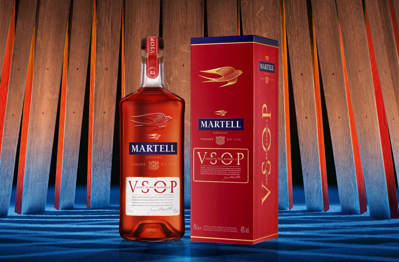 Martell VSOP - Un design pensé par l'agence de design de Paris Partisan du Sens.