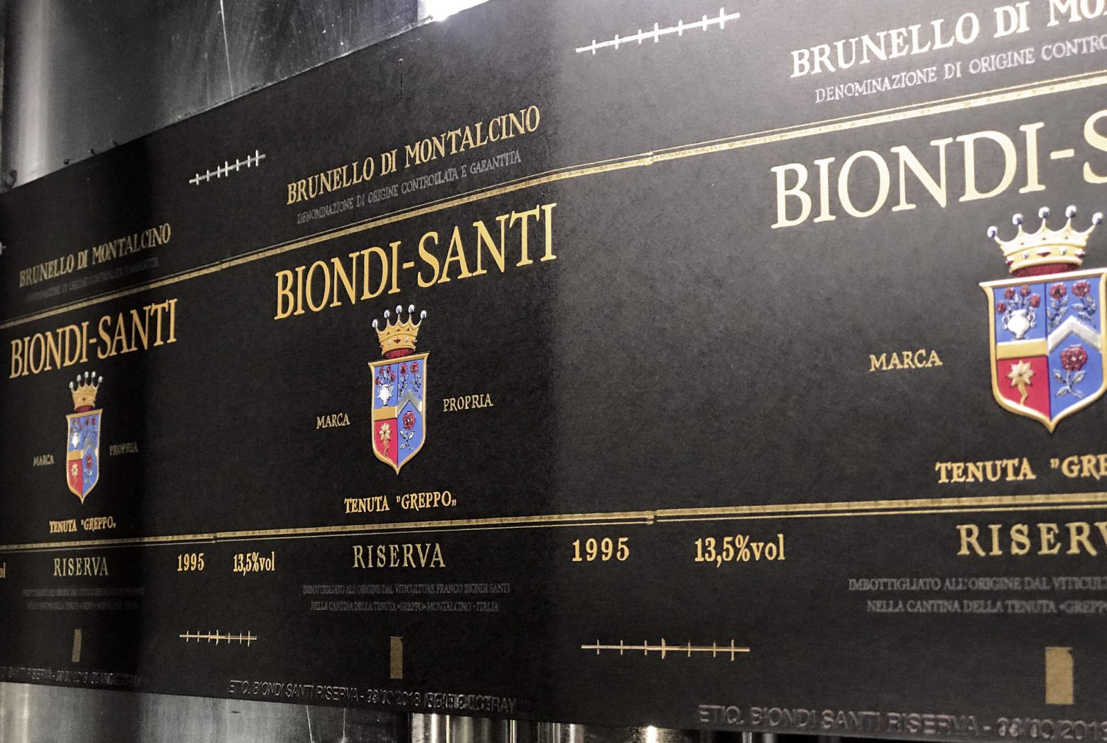 Biondi-Santi  - Un design pensé par l'agence de design de Paris Partisan du Sens.