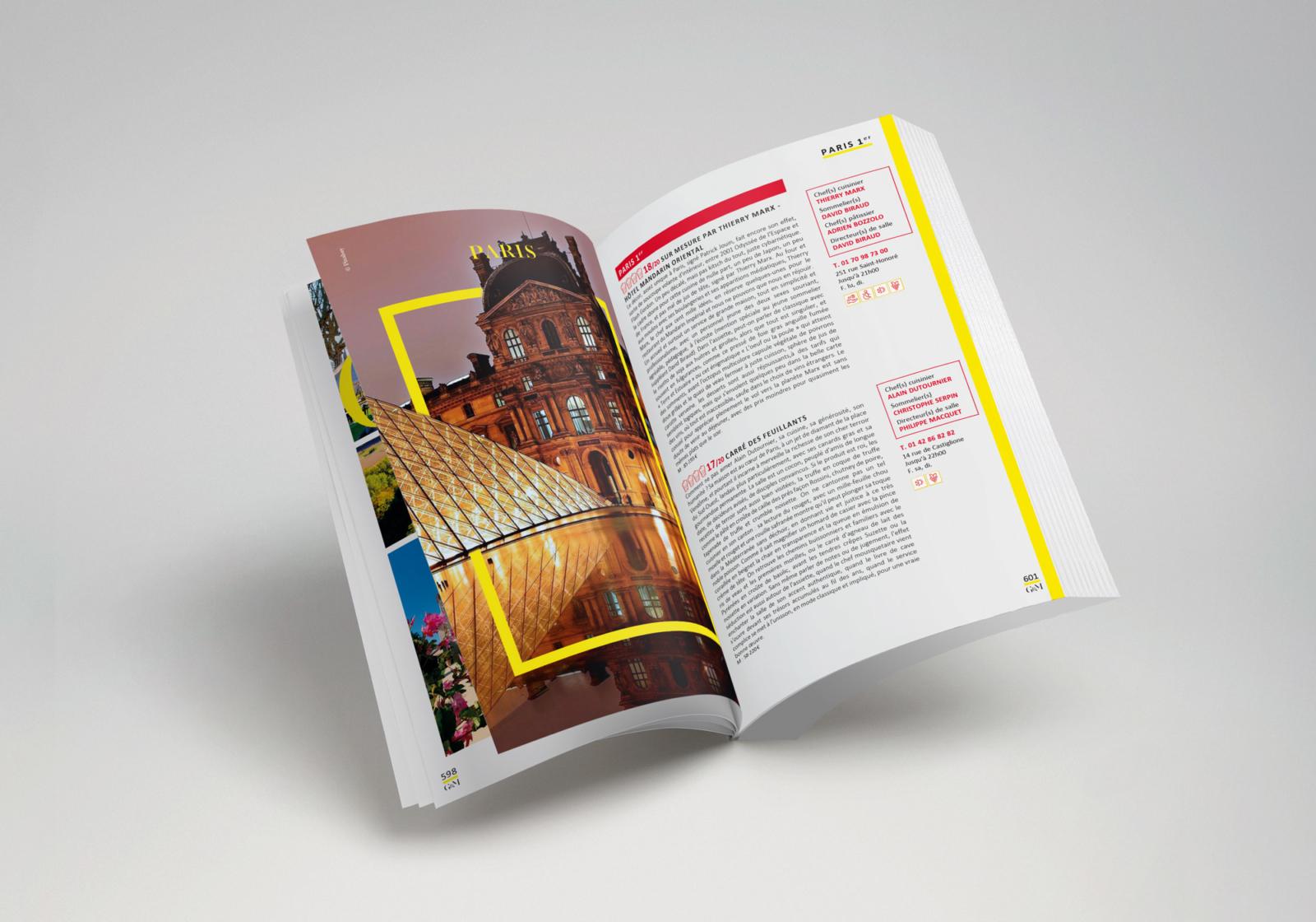 Gault&Millau - Un design pensé par l'agence de design de Paris Partisan du Sens.