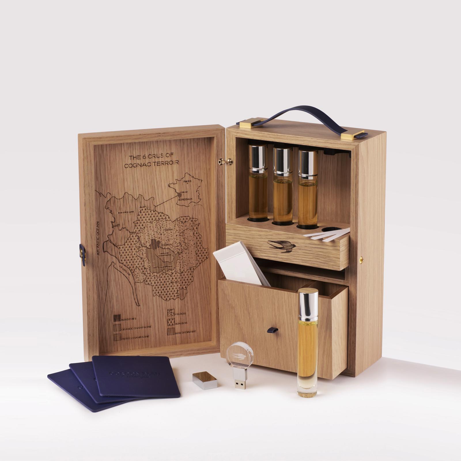Martell Cordon Bleu Toolkit - Un design pensé par l'agence de design de Paris Partisan du Sens.