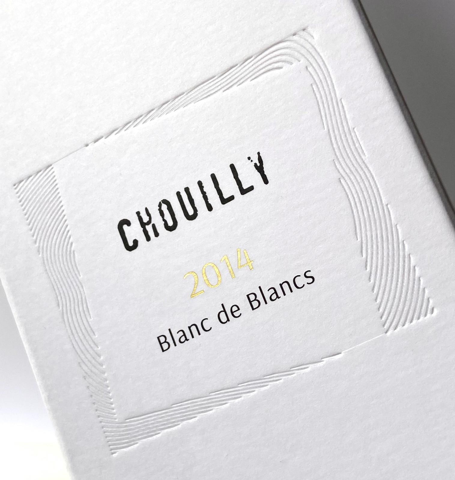 Cuvée Chouilly - Un design pensé par l'agence de design de Paris Partisan du Sens.