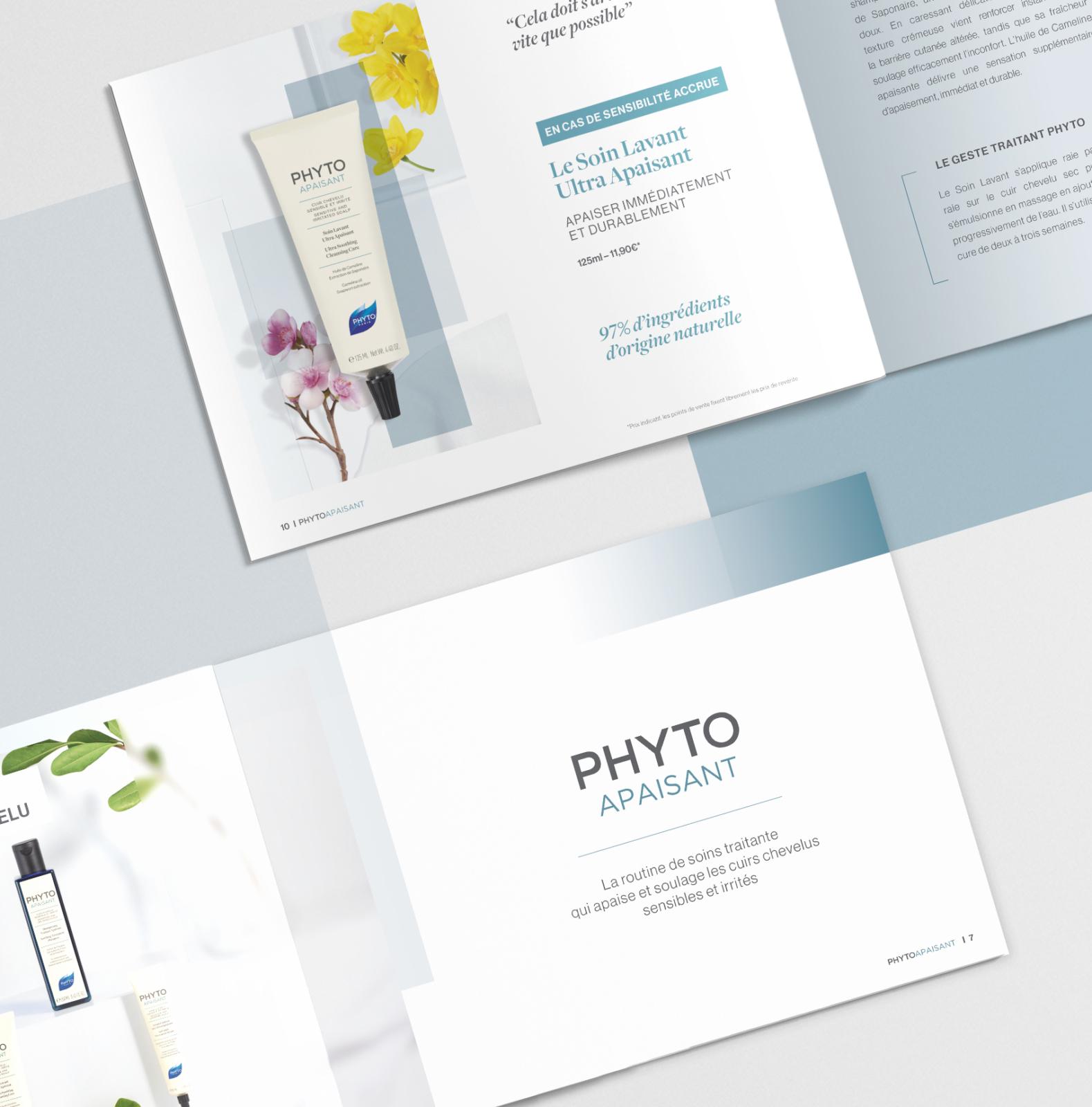 PHYTOAPAISANT - Un design pensé par l'agence de design de Paris Partisan du Sens.