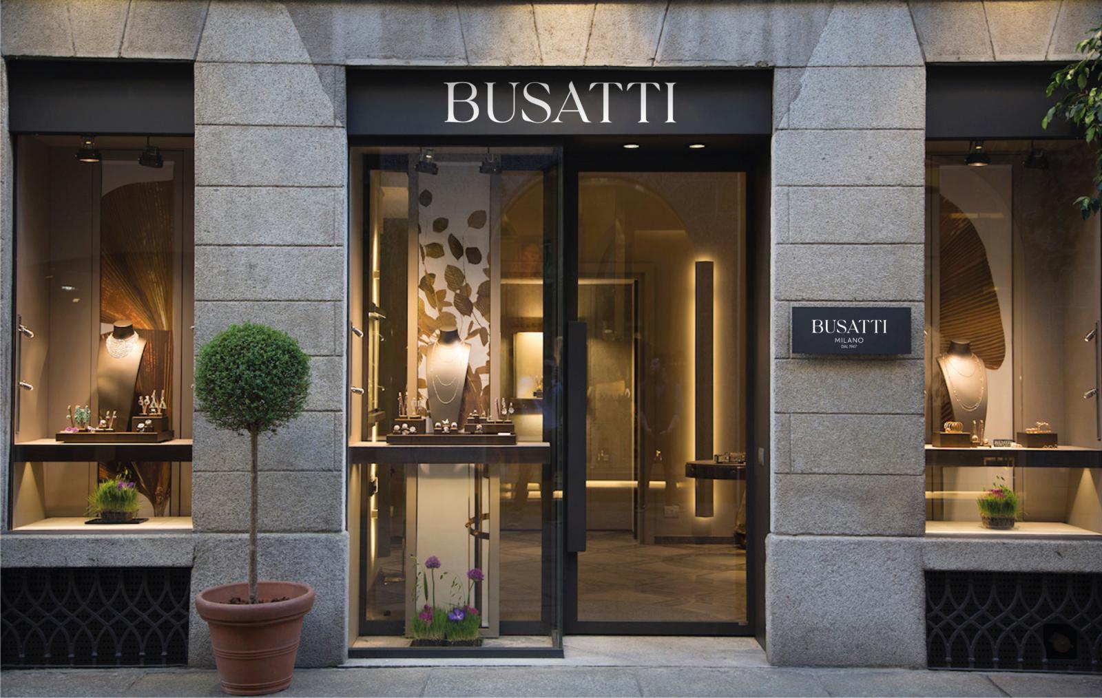BUSATTI MILANO- Un design pensé par l'agence de design de Paris Partisan du Sens.