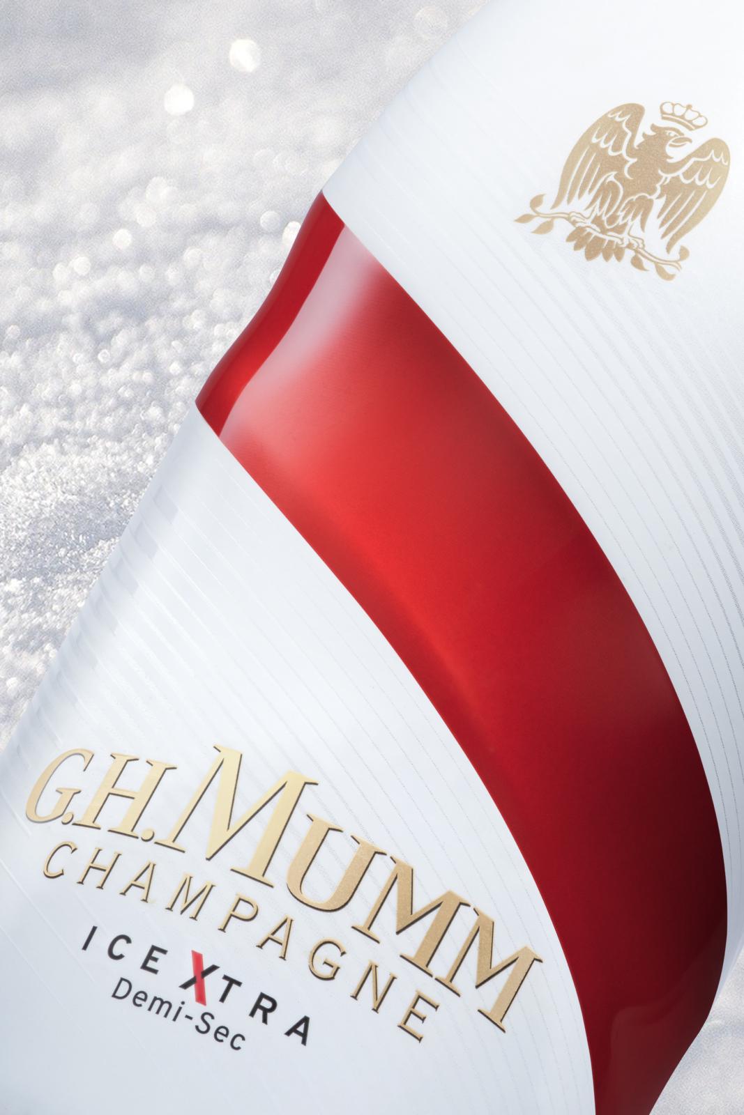 GH.MUMM - Un design pensé par l'agence de design de Paris Partisan du Sens.